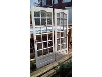Two wooden doors - FREE to collect