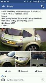 For sale Renault MEGANE 2003 1.4 Start and drive