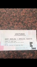 Gary Barlow Ticket
