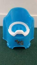 Potty seat chair