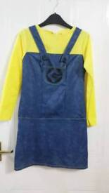 Girls Minion dress