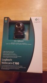 Logitech Webcam complete with manual and box