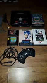 Sega megadrive + 5 games
