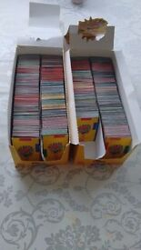 2 boxes of LEGO cards