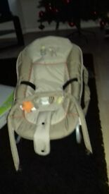 Hauck Bungee Delux Rocker Baby Chair Used Once Bought For Granparents