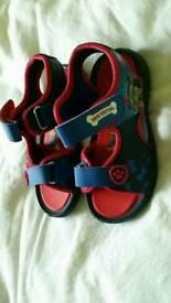 Kids sandals Paw Patrol size 8