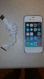 Iphone 4 8gb like new locked to o2 with charger