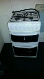 Gas cooker first one her gets it
