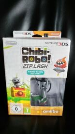 Nintendo 3DS game Chibi - Robo Zip Lash amiibo bundle pack