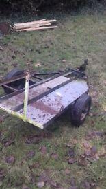 Single bike trailer £80