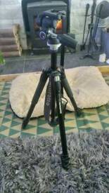Manfrotto 055XB tripod with 804RC2 head