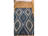 Beautiful Rug - Large Size - 92 inch by 64 inch - Nice Pattern - Very Good Condition