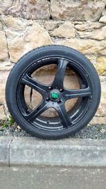 215/45/R17 BK Racing alloy wheels