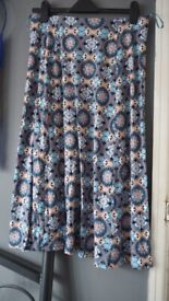 Pretty blue Marks & Spencer jersey skirt