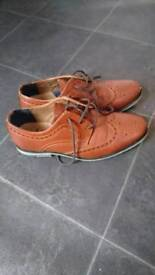 Brogue style river Island shoes