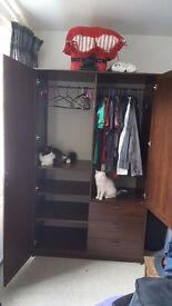 Wardrobe loved by cats