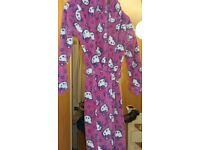 hello kitty dressing gown