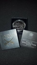 Duke of wellington platinum medal