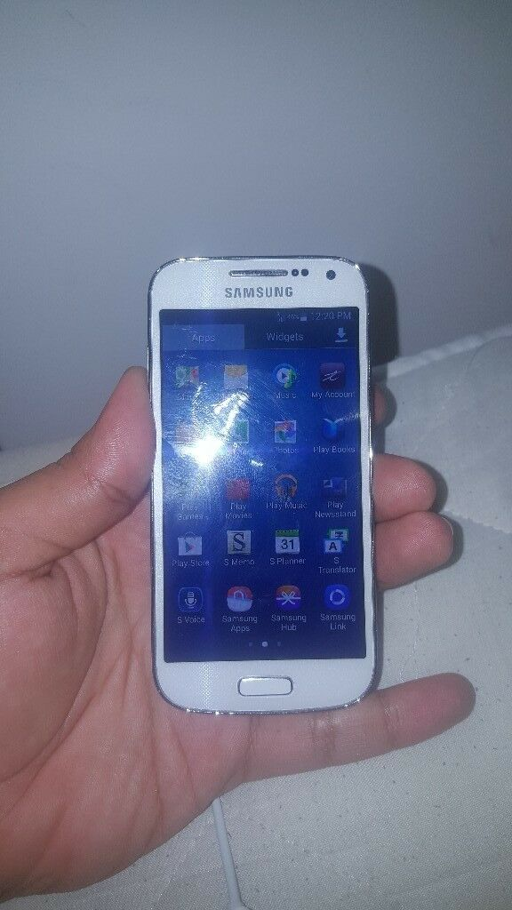 Samsung S4 Mini White Unlocked Good Condition