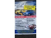 Scrap car/mot failure/cars bought/cash/Nottingham scrap