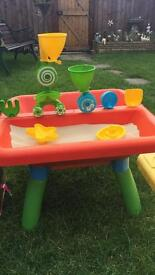 Sand and water play table early learning centre le3 Leicester collection
