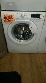HOOVER WHITE 8KG LOAD 1400 SPIN DIGITAL SCREEN WASHING MACHINE