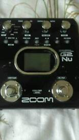 Zoom ng u2 guitar effects