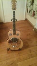 Hand made guitar.