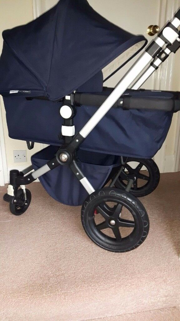 2016 Bugaboo Cameleon 3 Classic Pushchair Navy Blue In