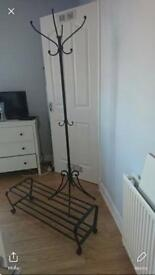 Coat stand & matching shoe rack