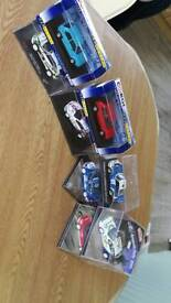 1 43 model diecast cars and rally cars