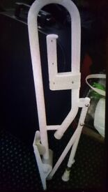 Disabled toilet security rail. Brand new. Collect today cheap