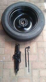 """Nissan Genuine Qashqai 2 JJ10 17"""" Road Spare Wheel"""