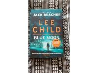 Jack Reacher, latest book BLUE MOON, hard back, mint condition.