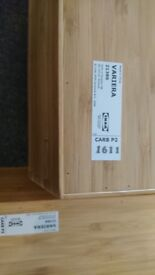 3 different Ikea kitchen drawer inserts/organisers