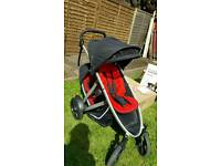 Phil & teds verve double buggy