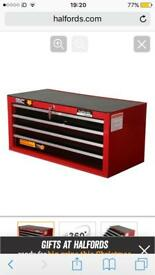 Halfords Professional Mid Intermediate Tool Box Chest **BRAND NEW**
