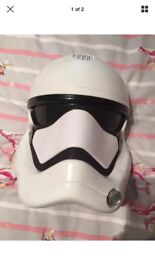 Star Wars storm trooper force awakens voice changing mask £25