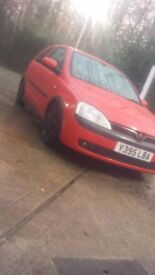 Mint corsa c very well maintained mint engine lowerd