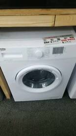 New graded Beko 6kg washing machine with 12 months guarantee