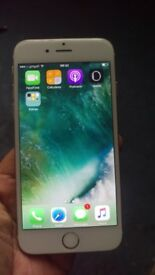 Apple iphone 6 64gb 02 and giffgaff network fully works looks new long battery life