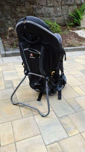 Deuter Kid Comfort III 3 Fußschlaufen Kraxe Rückentrage