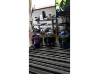 Motorbike helmets size medium