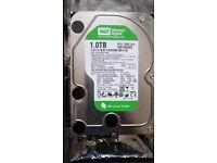1TB Western Digital 3.5 Inch Sata Hard Drive