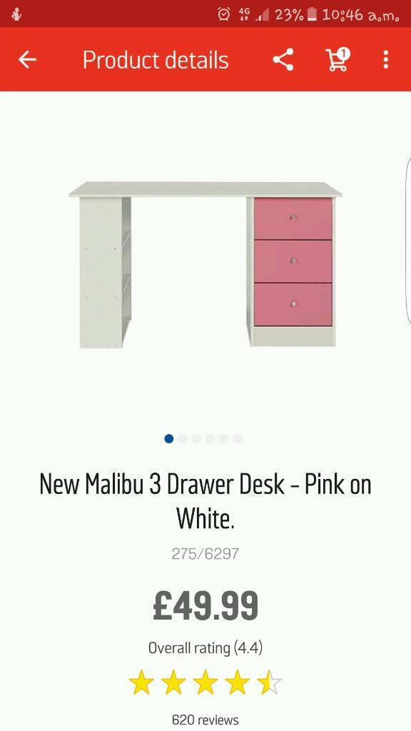Pink desk need gone asap