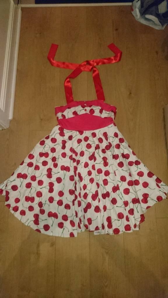 50's Style Swing Dress Size 14-16