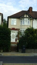 Spacious and beautiful 3 bedrooms semi detached house in streatham near to the park
