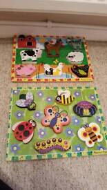2 Melissa and Doug puzzles
