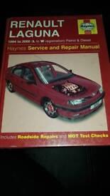 Haynes Manual - Renault Laguna