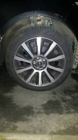 Range Rover 21in wheels and tyres